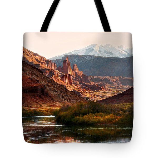 Utah Colorado River Tote Bag by Marilyn Hunt