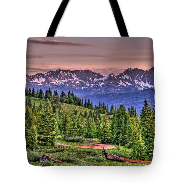 Vail View Tote Bag by Scott Mahon