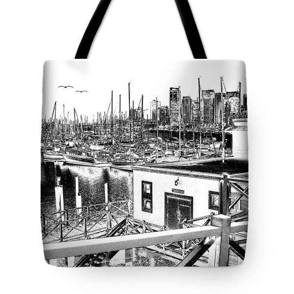 Vancouver Waterfront Tote Bag by Will Borden