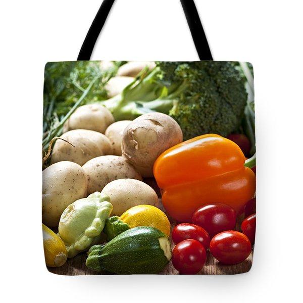 Vegetables Tote Bag by Elena Elisseeva