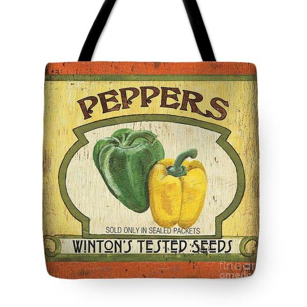 Veggie Seed Pack 2 Tote Bag by Debbie DeWitt