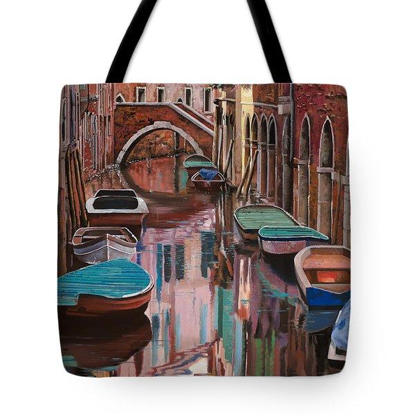 Venezia a colori Tote Bag by Guido Borelli