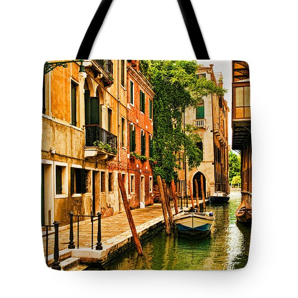 Venice Alley Tote Bag by Mick Burkey