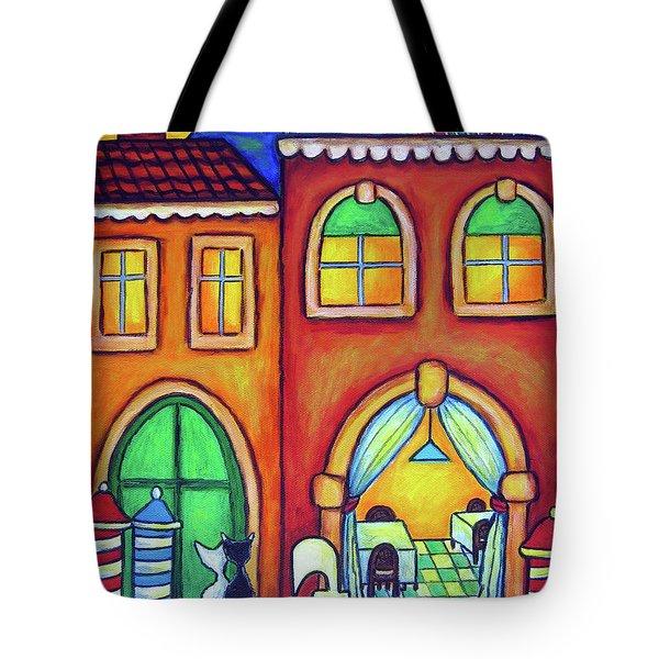Venice Valentine II Tote Bag by Lisa  Lorenz