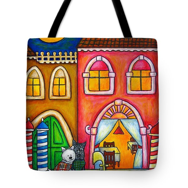 Venice Valentine Tote Bag by Lisa  Lorenz