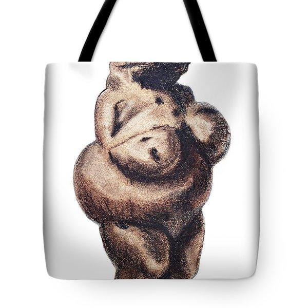 Venus - Fertility Symbol Tote Bag by Michal Boubin