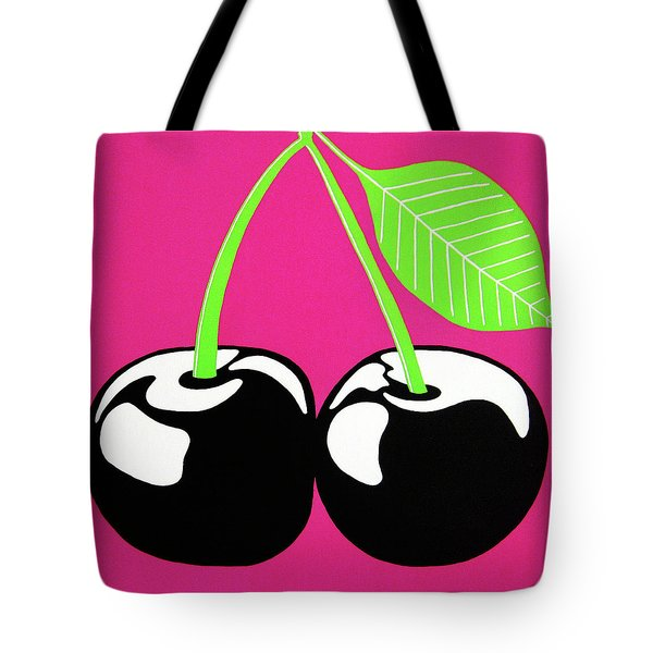 Very Cherry Tote Bag by Oliver Johnston