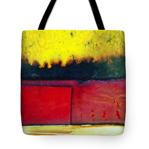 Vibrant Wall Colors Tote Bag by Ray Laskowitz - Printscapes