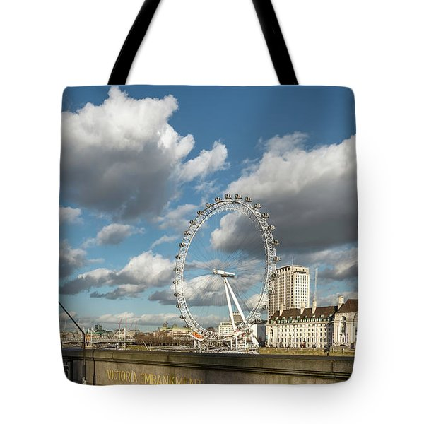 Victoria Embankment Tote Bag by Adrian Evans