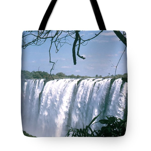 Victoria Falls Tote Bag by Photo Researchers, Inc.