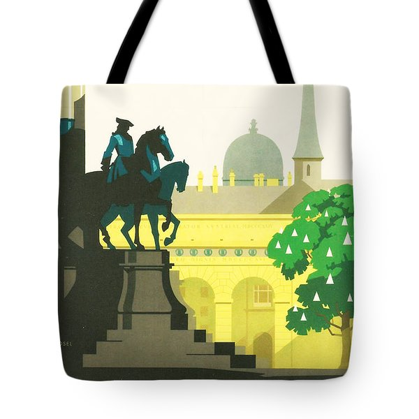 Vienna Tote Bag by Nomad Art And  Design