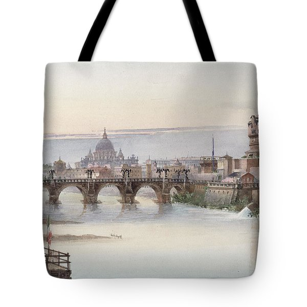 View Of Rome Tote Bag by I Martin