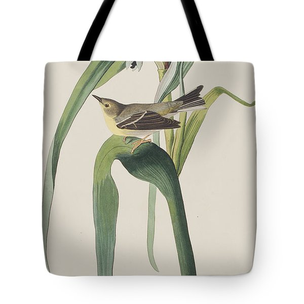 Vigor's Warbler Tote Bag by John James Audubon