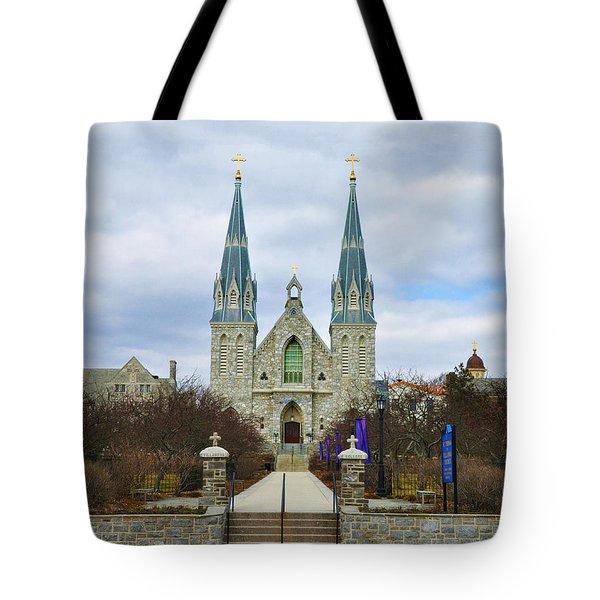 Villanova College Tote Bag by Bill Cannon