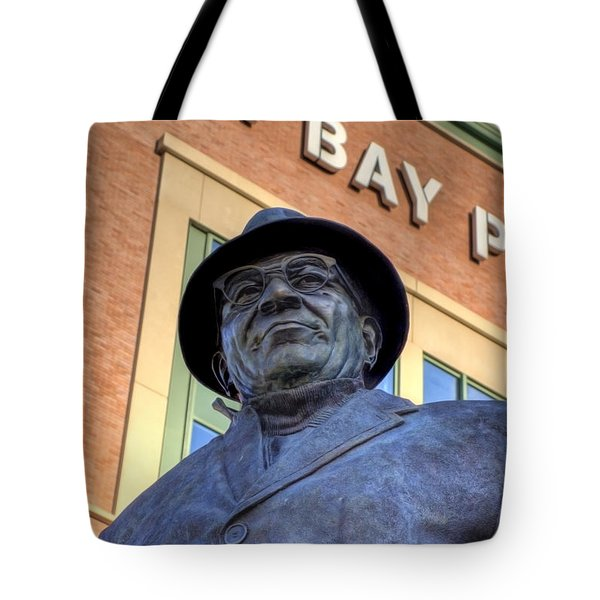 Vince Lombardi Tote Bag by Joel Witmeyer