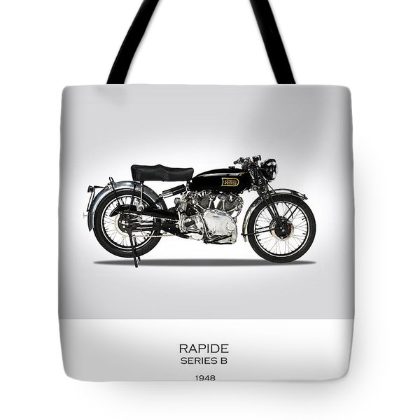 Vincent Hrd Rapide 1948 Tote Bag by Mark Rogan