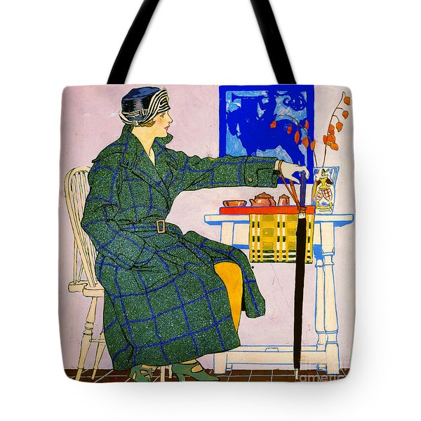 Vintage Clothing Advertisement 1910 Tote Bag by Padre Art