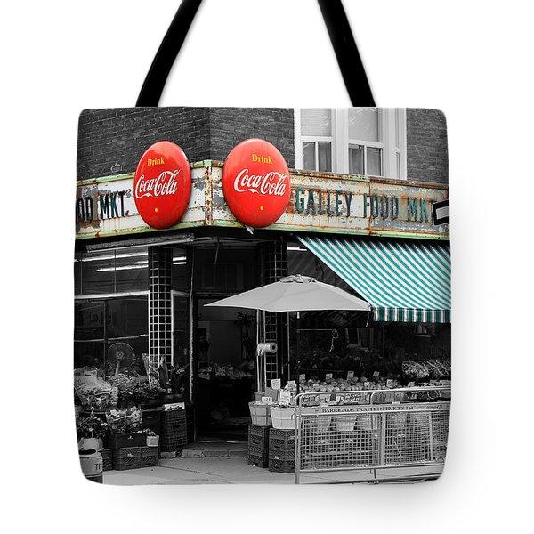 Vintage Coca Cola Signs Tote Bag by Andrew Fare