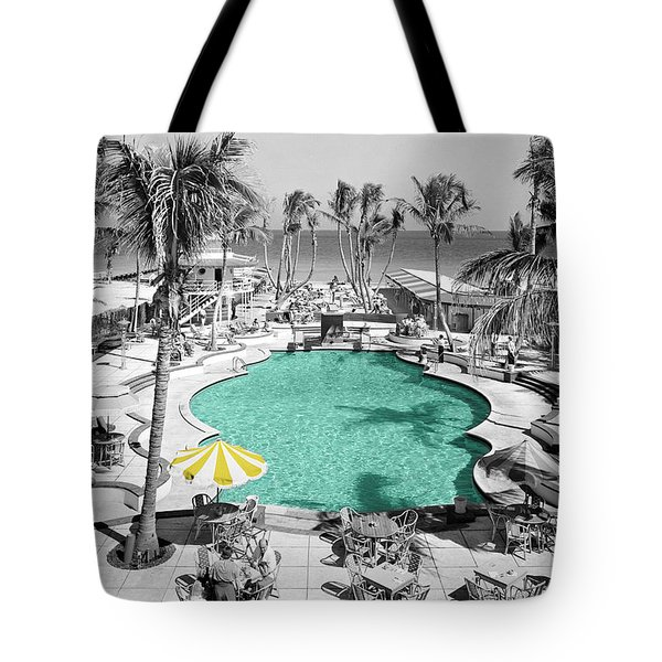 Vintage Miami Tote Bag by Andrew Fare