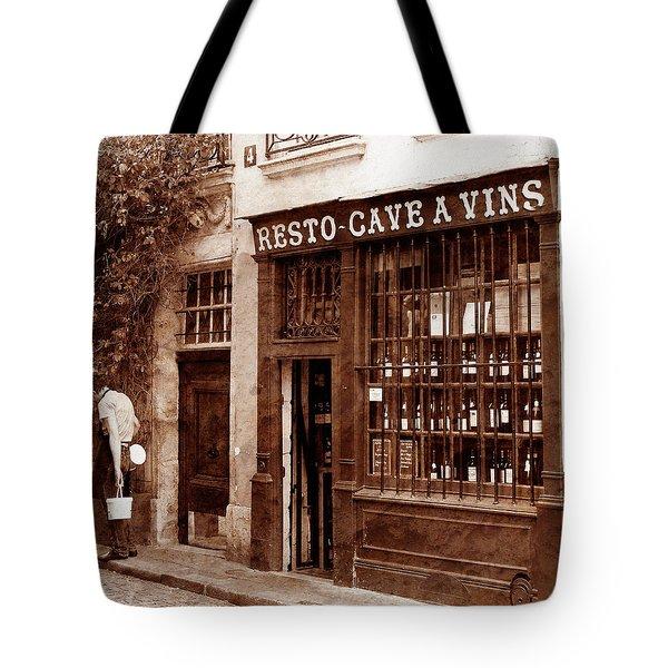 Vintage Paris 3 Tote Bag by Andrew Fare
