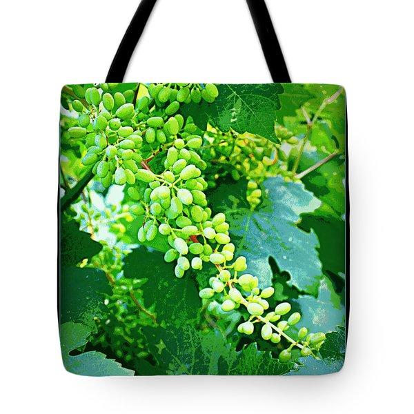 Vintage Vines  Tote Bag by Carol Groenen