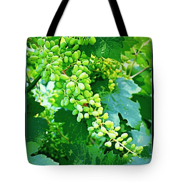 Vintage Vines  Tote Bag by Carol Groenen