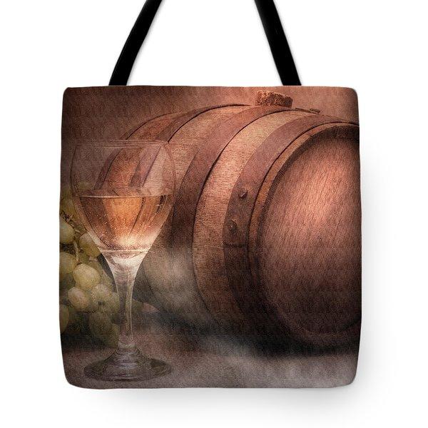 Vintage Wine Tote Bag by Tom Mc Nemar