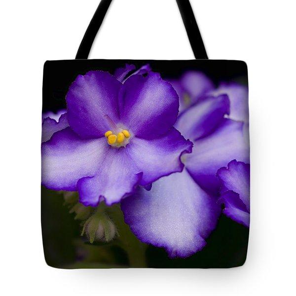 Violet Dreams Tote Bag by William Jobes