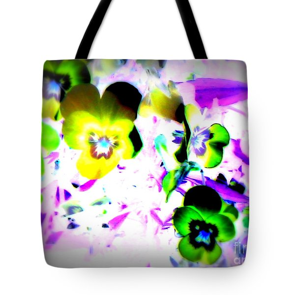 Violets Tote Bag by Pauli Hyvonen