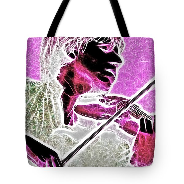 Violin Tote Bag by Stephen Younts