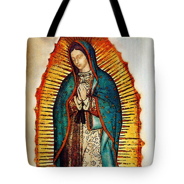 Virgen de Guadalupe Tote Bag by Bibi Romer