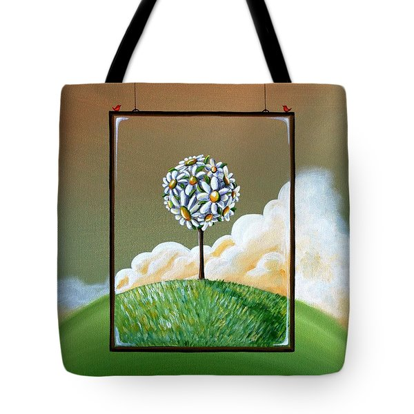 Virtue Tote Bag by Cindy Thornton