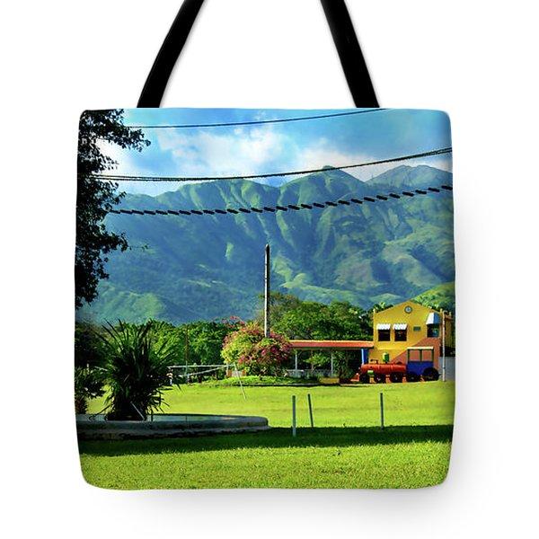 Vista Del Ferrocalejo En Rincon Grande Tote Bag by Bibi Romer
