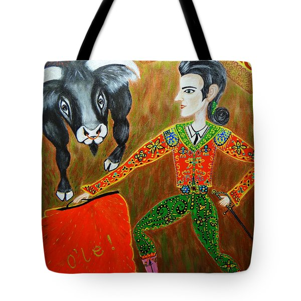 Viva Don Toreadore Tote Bag by Marie Schwarzer
