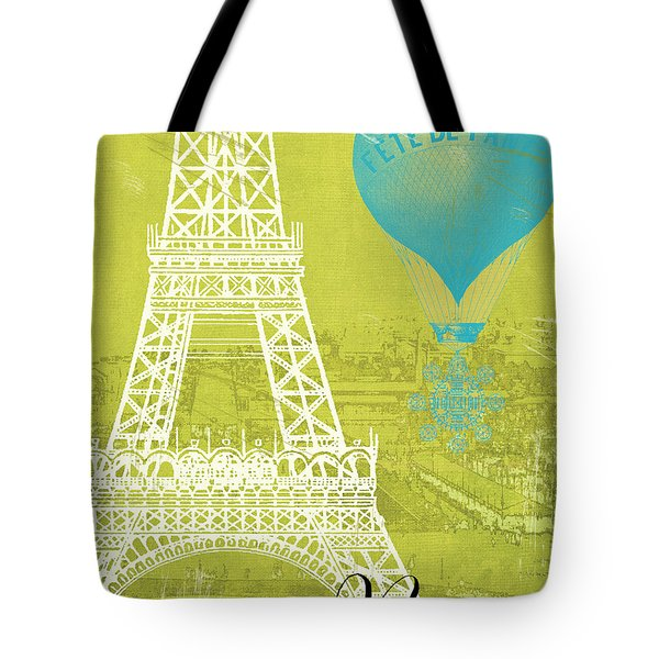 Viva La Paris Tote Bag by Mindy Sommers