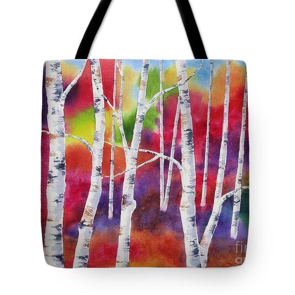 Vivid Autumn Tote Bag by Deborah Ronglien