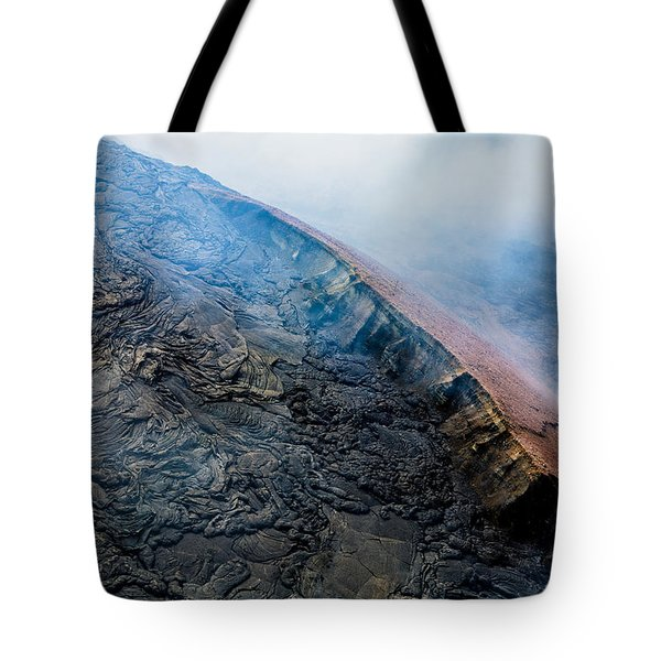 Tote Bag featuring the photograph Volcanic Ridge by M G Whittingham