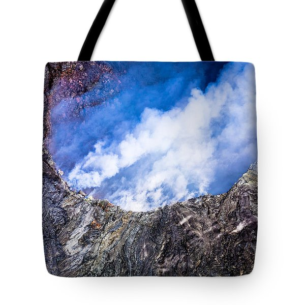 Tote Bag featuring the photograph Volcano by M G Whittingham