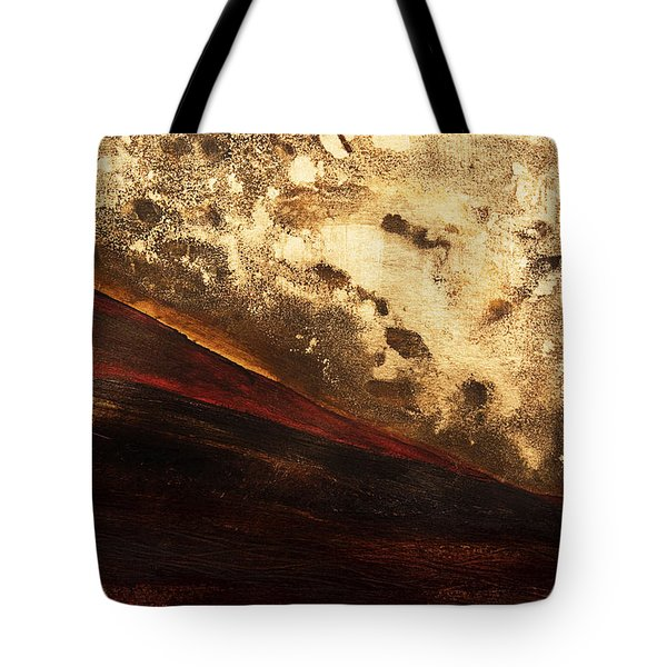 Volcano Sunrise Tote Bag by Tara Thelen - Printscapes