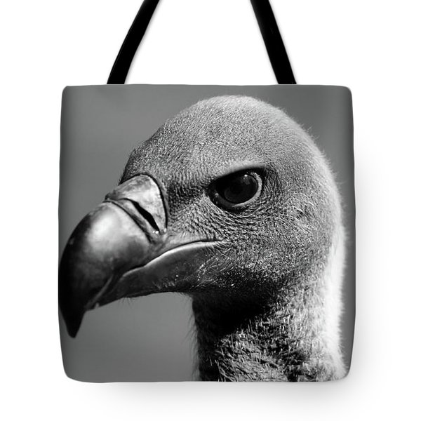 Vulture Eyes Tote Bag by Martin Newman