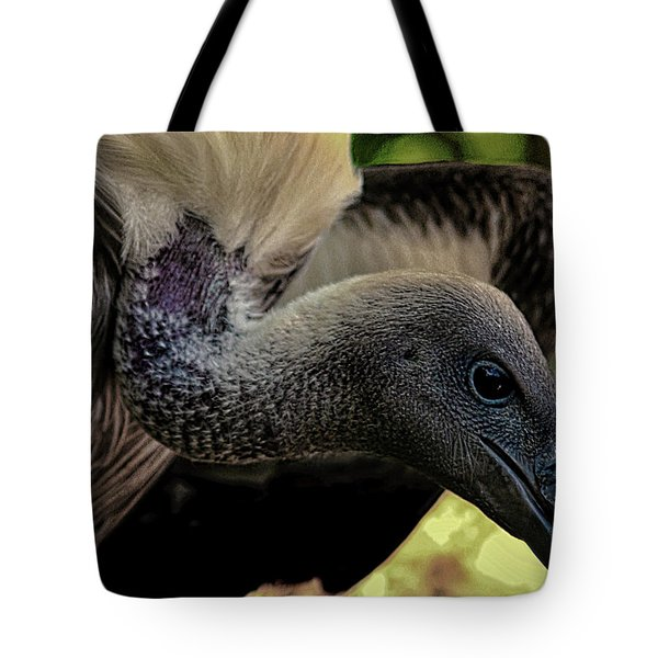 Vulture Tote Bag by Martin Newman