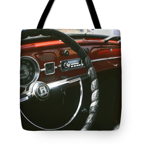 Vw Beetle Interior Tote Bag by Nomad Art And  Design
