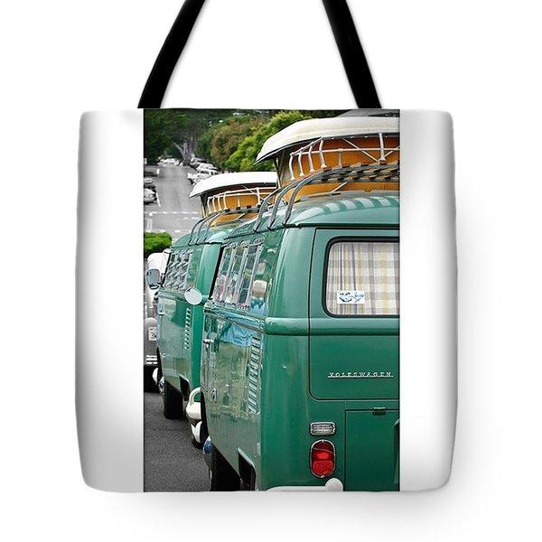 Vw Buses #carphotographer #vw #vwbus Tote Bag by Jill Reger