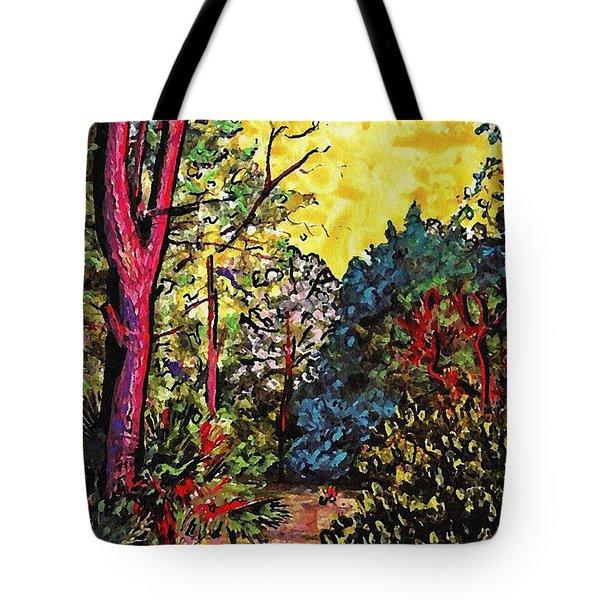 Wadmalaw Island Tote Bag by Sarah Loft