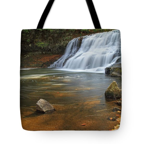 Wadsworth Falls Tote Bag by David Freuthal