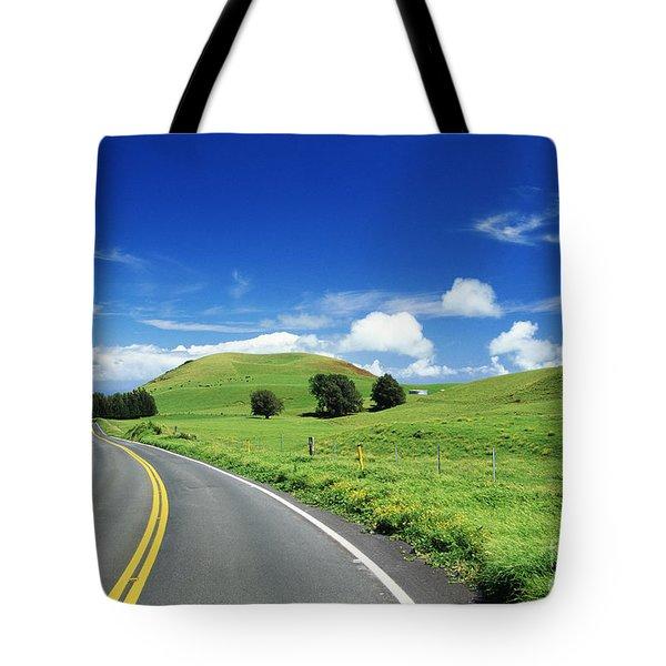 Waimea Ranch Land Tote Bag by Bob Abraham - Printscapes