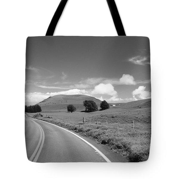 Waimea Ranchland Tote Bag by Bob Abraham - Printscapes