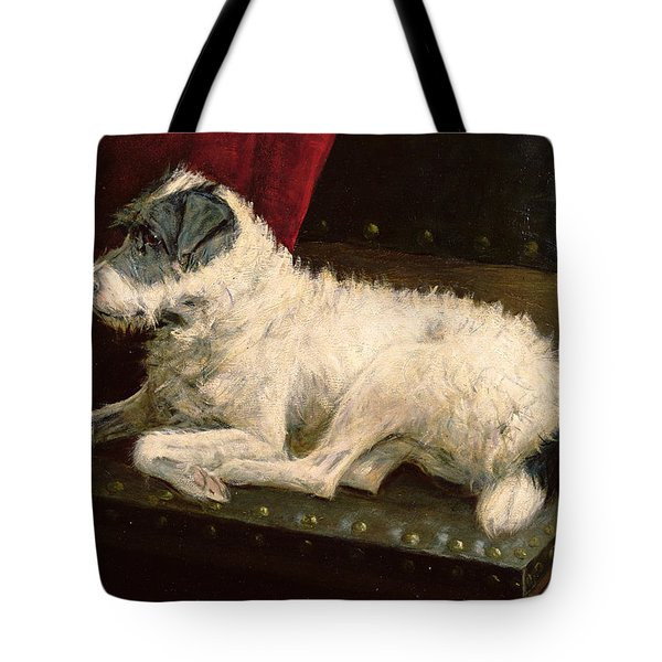 Waiting For Master Tote Bag by George Paice