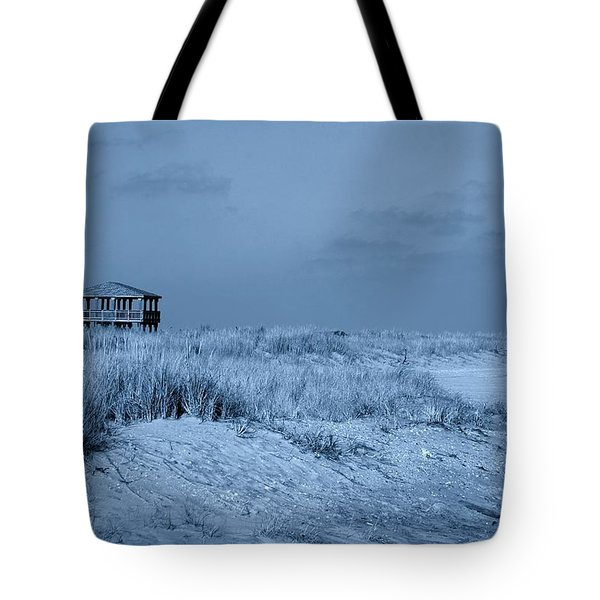 Waiting For Summer - Jersey Shore Tote Bag by Angie Tirado