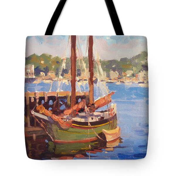 Waiting For Sunset Tote Bag by Dianne Panarelli Miller
